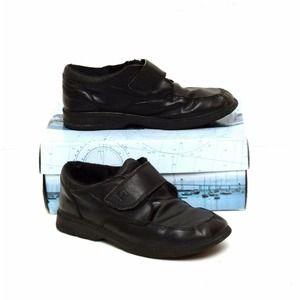 Sperry Top Sider Shoes Black Hook & Loop Miles